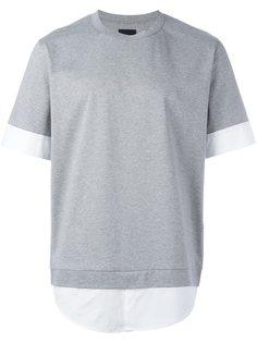 многослойная футболка Juun.J