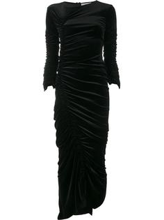 платье с рюшами Preen By Thornton Bregazzi