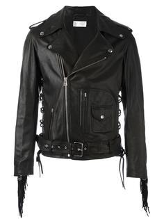 байкерская куртка с бахромой Faith Connexion