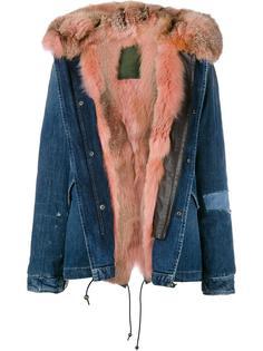 куртка с подкладкой из лисьего меха Mr & Mrs Italy