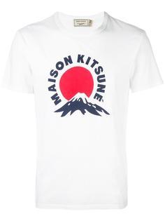 футболка 'Mont Fuji' Maison Kitsuné
