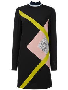платье шифт с принтом MSGM