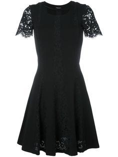 платье с кружевной отделкой Twin-Set