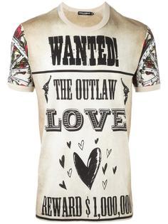 футболка с принтом в стиле вестерн Dolce & Gabbana