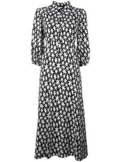 платье с узором в виде звезд Saint Laurent