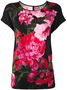 блузка с цветочным узором Dolce & Gabbana