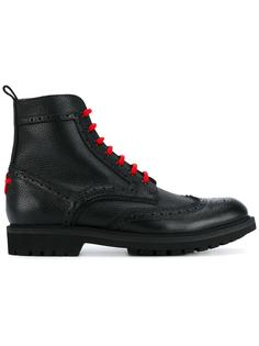 ботинки с контрастной шнуровкой Givenchy