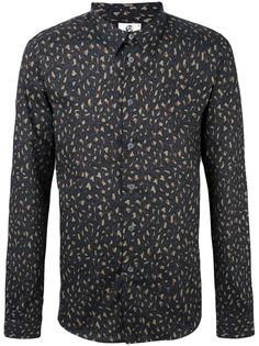 рубашка с леопардовым узором Ps By Paul Smith