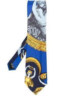 psyche and cupid print tie Versace Vintage