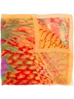 flower printed scarf Kenzo Vintage