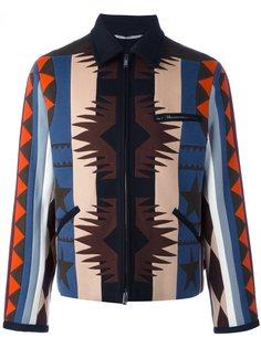 куртка-бомбер с узором навахо Valentino