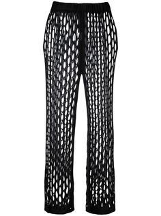 брюки из сетки Marques'almeida