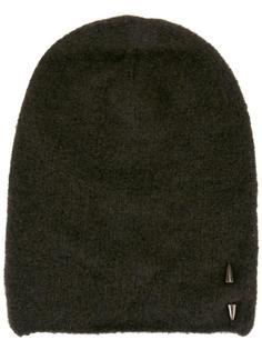 шапка-бини с металлической отделкой Isabel Benenato