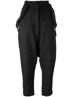 брюки-шаровары с подтяжками Rundholz