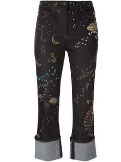 джинсы 'Astro Couture' Valentino