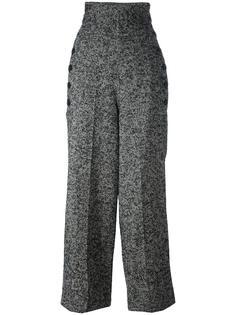 брюки в елочку Y's