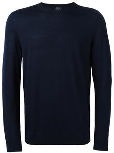 вязаный свитер 'Spy'  A.P.C.