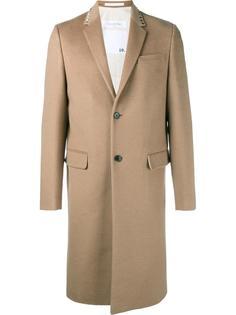 однобортное пальто 'Rockstud' Valentino