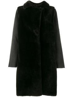 двустороннее меховое пальто Yves Salomon