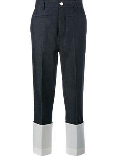 укороченные брюки Loewe