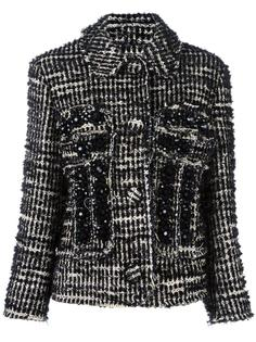 укороченная куртка с узором Simone Rocha
