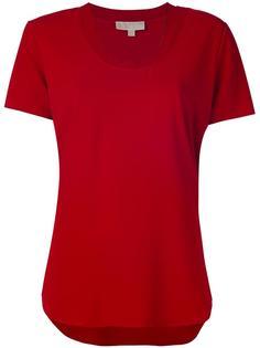 футболка с закругленным подолом  Michael Michael Kors