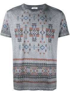 футболка с узором  Valentino