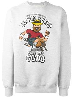 толстовка с принтом 'Black Sheep' Golden Goose Deluxe Brand