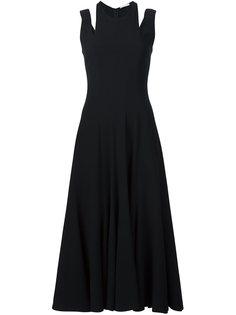 платье с вырезными деталями Tome