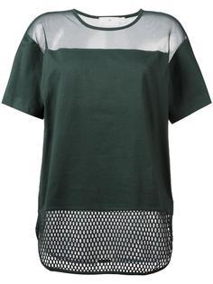 сетчатая футболка  Adidas By Stella Mccartney