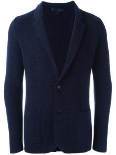 фактурный пиджак Lardini