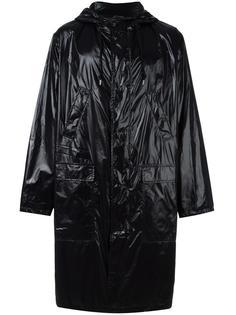 logo print raincoat MSGM
