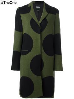 пальто в горох MSGM