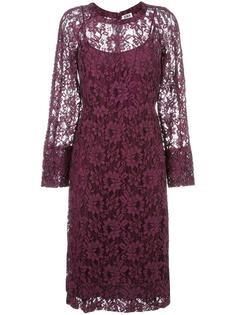 floral lace midi dress Sonia By Sonia Rykiel
