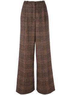 checked tweed trousers Sonia Rykiel