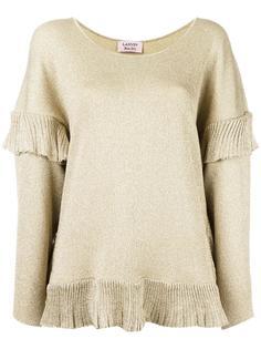 блузка с оборками Lanvin