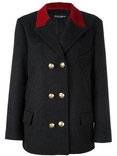 пиджак в стиле милитари  Dolce & Gabbana