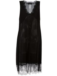 прозрачное платье Twin-Set