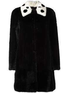 пальто с рукавами три четверти Blancha
