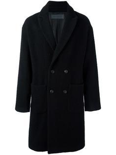однобортное пальто Route Des Garden