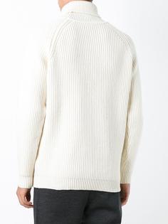 свитер ребристой вязки Bark