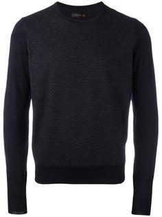 трикотажный свитер в тонкую полоску Corneliani