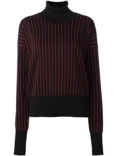 свитер в полоску с высокой горловиной Y / Project