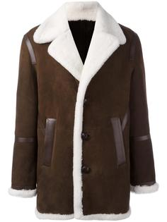 пальто из овчины  Neil Barrett