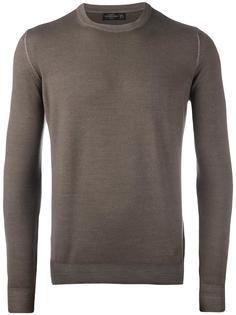 трикотажный свитер с круглым вырезом Corneliani