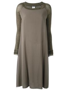 платье-футболка с панельным дизайном Kristensen Du Nord