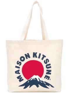 сумка-шоппер 'Mont Fuji' Maison Kitsuné