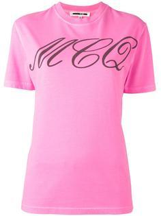 футболка с принтом-тату McQ Alexander McQueen