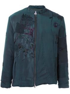 куртка с вышивкой By Walid