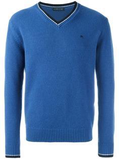 свитер с V-образным вырезом Etro